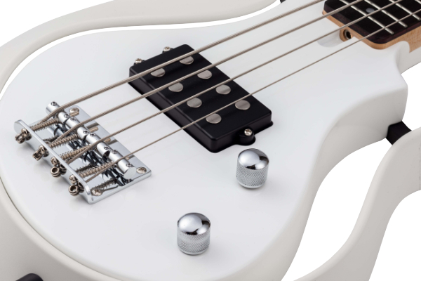 Witte short scale bas